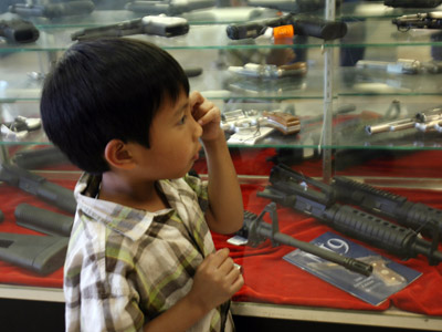 Chicago firearm buyback program funds gun camp for kids