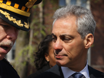 Chicago cops sue mayor Rahm Emmanuel