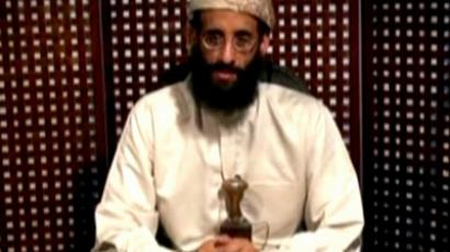 Anwar al-Awlaki, a U.S.-born cleric linked to al Qaeda's Yemen-based wing, gives a religious lecture in an unknown location in this still image taken from video released by Intelwire.com on September 30, 2011 (Reuters / Intelwire.com)