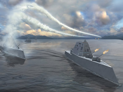 New stealth destroyer really sucks - China mocks America's $7 billion Navy acquisition