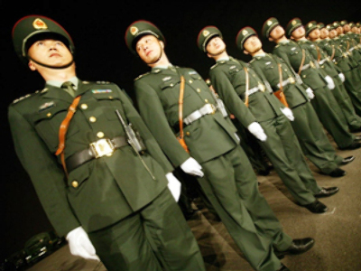 China 'dissatisfied' with US military report