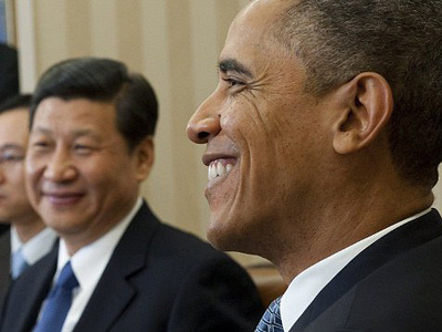 Obama spends Valentine's Day with future Chinese leader