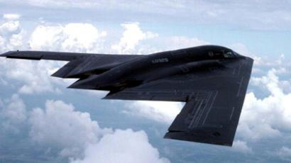 A US B-2 stealth jet (AFP Photo)