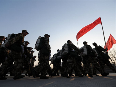 China indicates military worries about US