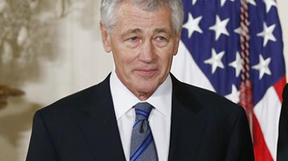 Chuck Hagel, President Barack Obama's nominee for Defense Secretary. (Reuters / Kevin Lamarque)