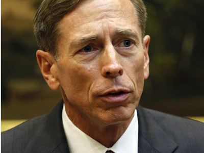 CIA Chief Petraeus resigns due to extramarital affair