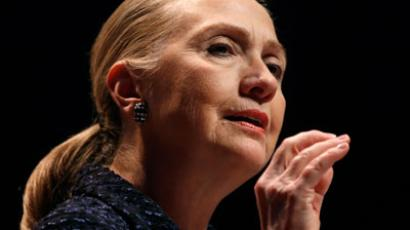 US Secretary of State Hillary Clinton.(AFP Photo / Kevin Lamarque)
