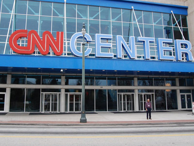 Chemical bomb alert: Police search CNN HQ in Atlanta