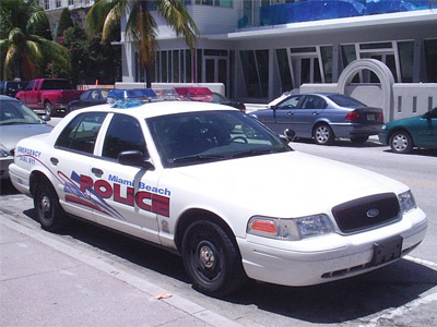 Cop hit-and-run on Miami Beach