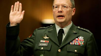 National Security Agency Director Gen. Keith Alexander (Reuters/Larry Downing)