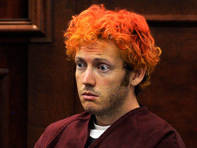 Red-haired Joker:  Colorado shooter James Holmes' first court appearance