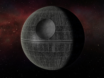 Death Star - visionary project rejected by the Obama administration.