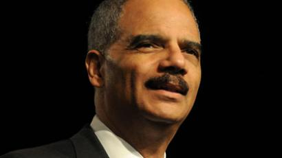 U.S. Attorney General Eric Holder.(AFP Photo / Gerardo Mora)