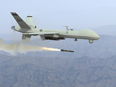 Drone strike killed Americans