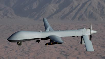 Undated handout image courtesy of the U.S. Air Force shows a MQ-1 Predator unmanned aircraft (Reuters / U.S. Air Force / Lt Col Leslie Pratt / Handout)