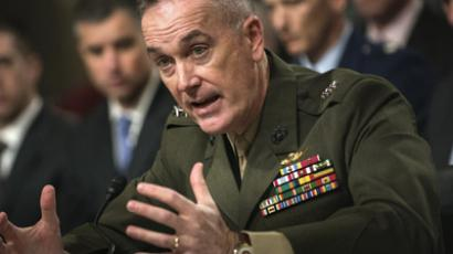 US Marine General Joseph F. Dunford (AFP Photo/Brendan Smialowski)