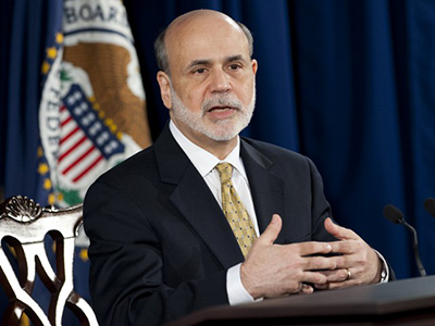 Federal Reserve Board Chairman Ben Bernanke (AFP Photo/Saul Loeb)