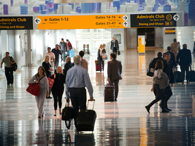 American airports to kick-start global epidemic