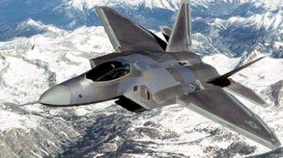 F-22 Raptor in flight (AFP Photo / Getty images / Martin Lockheed)