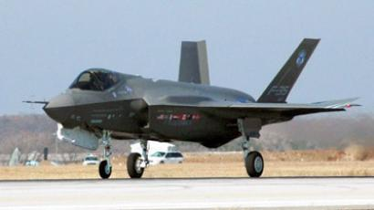 This US Navy handout image shows the F-35 Joint Strike Fighter Lightning II. (AFP Photo / HO / US NAVY / MCS2D)