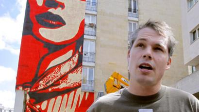 Shepard Fairey (AFP Photo / Getty Images)