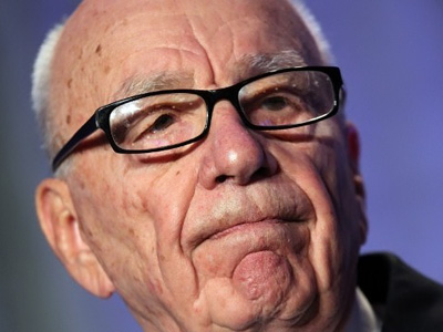 News Corp. CEO Rupert Murdoch pauses as he delivers a keynote address at the National Summit on Education Reform on October 14, 2011 in San Francisco, California. (Justin Sullivan/Getty Images/AFP)