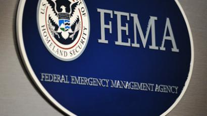 The logo of the Federal Emergency Management Agency (AFP Photo/Mandel Ngan)