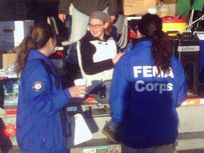 OccupySandy feeds FEMA workers: Government incompetence at its peak