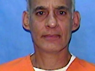 Corrections mugshot shows Manuel Valle. Valle, a 61-year-old Cuban, has been on Florida's death row for decades for the 1978 murder of Louis Pena, a 41-year-old police officer. (FLORIDA DEPARTMENT OF CORRECTIONS)