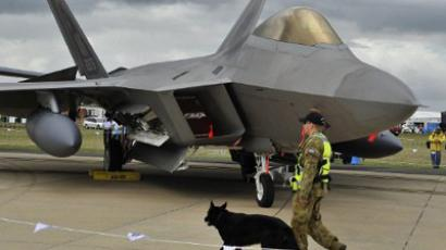 Pentagon restricts flights of F-22 fleet that choked pilots