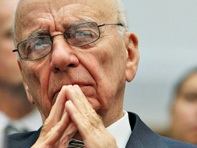 United States, Washington: Rupert Murdoch, chairman and CEO of News Corp. participates in a House Judiciary Subcommittee hearing about immigration on September 30, 2010 in Washington, DC. (AFP Photo / Mark Wilson)