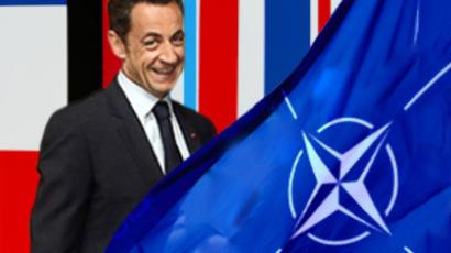 Sarkozy battles General de Gaulle's NATO retreat