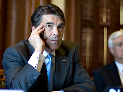 Texas Governor Rick Perry (Photo from http://www.flickr.com/photos/rickperry/)