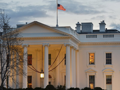 The White House (AFP Photo/Mandel Ngan)