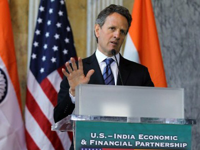 Geithner predicts long hardships ahead for America