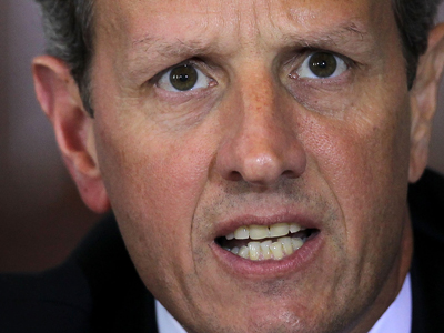 Geithner insists he's 'the most f*****g transparent secretary' in America's 'f*****g history'