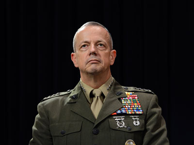 General John Allen cleared in Petraeus sex scandal