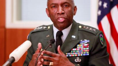 Commander of the U.S. Africa Command General William Ward.(Reuters / Louafi Larbi)