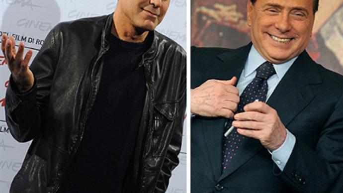 George Clooney To Testify On Behalf Of Berlusconi Rt