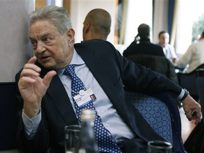Chairman of Soros Fund Management, USA, George Soros (AFP Photo / Getty Images)