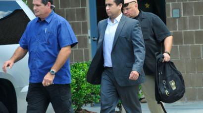 George Zimmerman (C)  (AFP Photo /  Roberto Gonzalez)