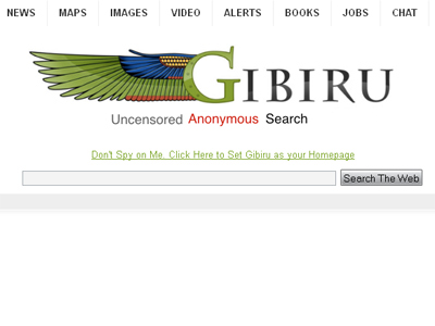 Welcome, privacy! Gibiru tries to break Google/government alliance