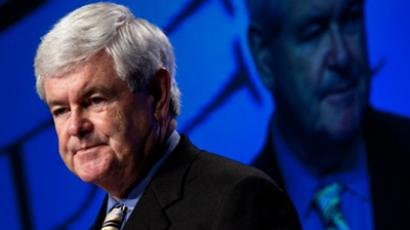 Former House Speaker of the House Newt Gingrich (Brendan Smialowski / Getty Images / AFP)