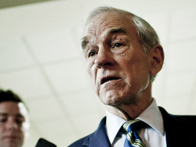 Republican presidential hopeful Ron Paul (T.J. Kirkpatrick/Getty Images/AFP)