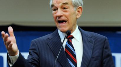 Republican presidential candidate  Ron Paul (AFP Photo /  Ethan Miller)