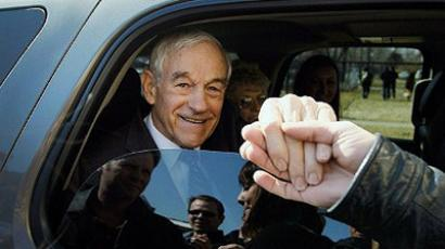 Detroit: Republican presidential candidate U.S. Rep. Ron Paul. (Joe Raedle/Getty Images/AFP)