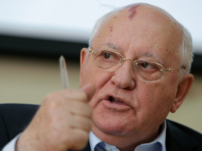 Gorbachev wants perestroika for America