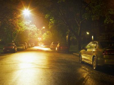 City lights spy on Farmington Hills, Michigan