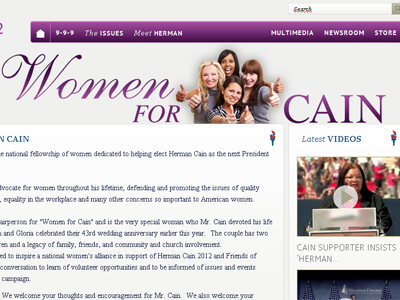 Women for Herman Cain