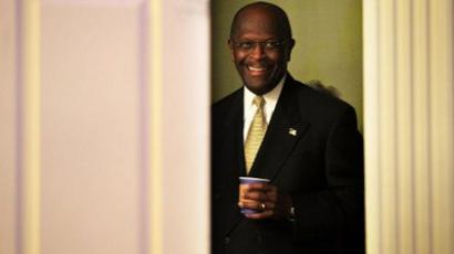 Republican presidential candidate Herman Cain  (AFP Photo / Alex Wong)